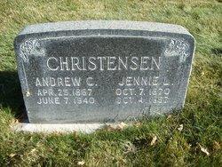 Jennie Christena <I>Larsen</I> Christensen