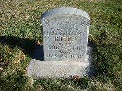 Eliza Sanders F Green