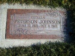 Estella Florence <I>Peterson</I> Johnson