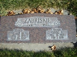 Mary Eliza <I>Wise</I> Zabriskie
