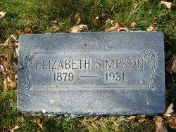Annie Elizabeth <I>Peterson</I> Simpson