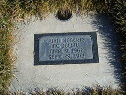 John Robert Mcdowall