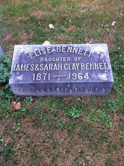Elise Clay <I>Bennett</I> Gagliardini