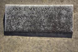 Annie Mae <I>Singleton</I> Abbett