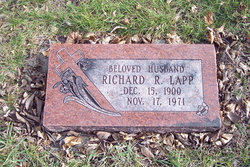 "Richard Robert ""Dick"" Lapp"