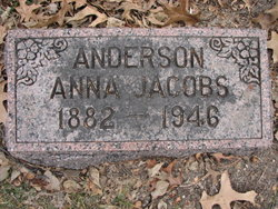 Anna Marie <I>Jacobs</I> Anderson