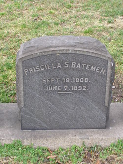 Priscilla L <I>Smith</I> Bateman