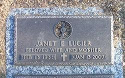 "Janet Eleanor ""Williams"" Lucier"