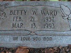 Betty W Ward