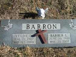 """Barber L. """"Les"""" Barron"""