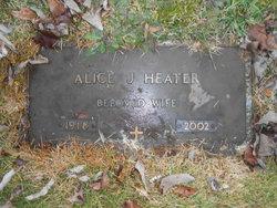 Alice J. <I>Treible</I> Heater