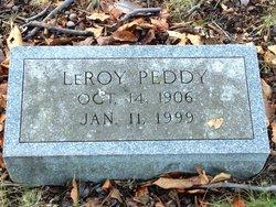 """Leroy """"Roy"""" Peddy"""