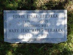 Mary Jean <I>Mapes</I> Heilakka
