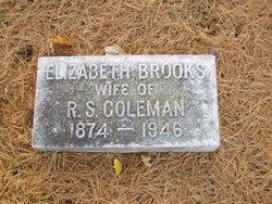 Elizabeth <I>Brooks</I> Coleman