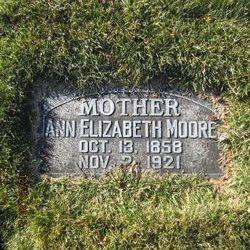 Ann Elizabeth <I>Smith</I> Moore