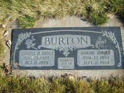 Carole <I>Jones</I> Burton
