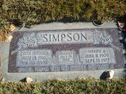 Harry J Simpson