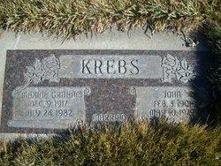 Pearl Maxine <I>Graham</I> Krebs