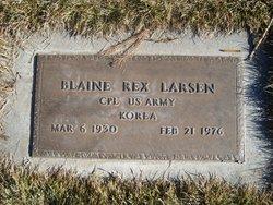 Blaine Rex Larsen
