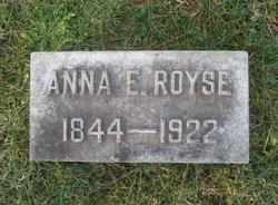 Anna Eliza <I>Crockett</I> Royse