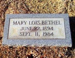 Mary Lois <I>Byrd</I> Bethel