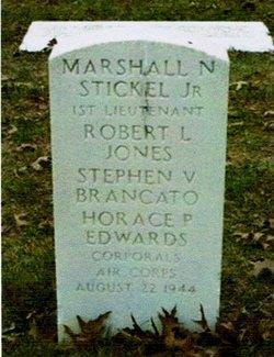 1LT Marshall N Stickel, Jr
