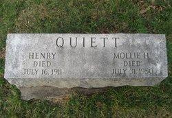 Mollie <I>Higgins</I> Quiett