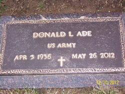 "Donald L. ""Don"" Ade"