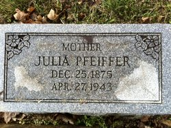 "Julianna ""Julia"" <I>Ruisz</I> Pfeiffer"