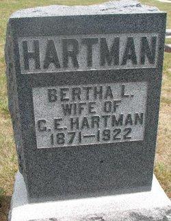 Bertha Mae <I>Locke</I> Hartman