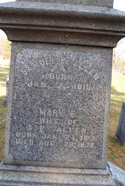 Mary E <I>Thompson</I> Allen
