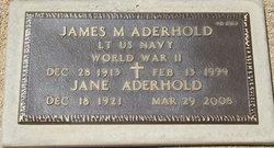 James M Aderhold