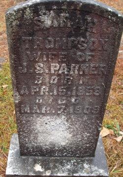 Sarah <I>Thompson</I> Parker