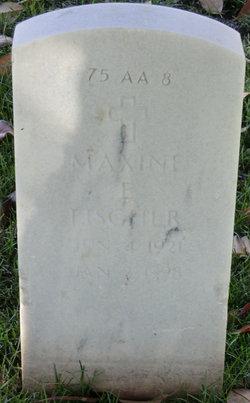 Maxine E Fischer