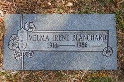 Velma Irene <I>Hill</I> Blanchard