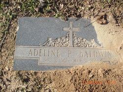 Adeline M <I>Powell</I> Baldwin