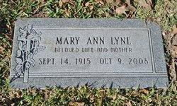 Mary Ann Greer <I>Enz</I> Lyne