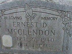 Ernest D McCleadon