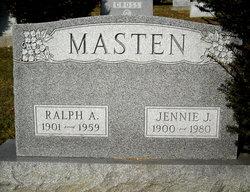 Jennie J. <I>Jones</I> Masten