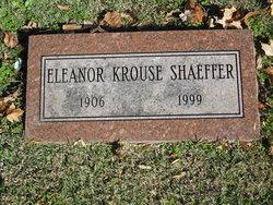 Eleanor <I>Krouse</I> Shaeffer