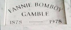 Fannie <I>Bomboy</I> Gamble