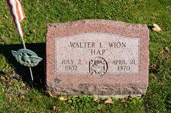 "Walter ""Hap"" Wion"
