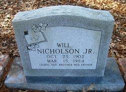 Will Nicholson, Jr