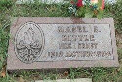 Mabel E <I>Ernst</I> Bittle