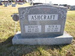 Ruth K. <I>Stiffler</I> Ashcraft