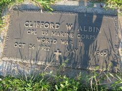 Clifford W. Albin