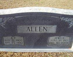 Jewell Naomi <I>Burns</I> Allen