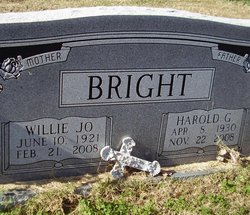Willie Jo Bright