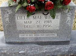 Lillie Mae <I>Baker</I> White