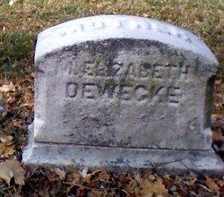 Elizabeth <I>Kruse</I> Dewecke